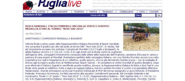 Италијански медији о нашем турниру